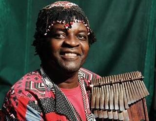 mbira player Chartwell Dutiro